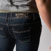 STRUT jeans back detail