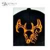 Deer Skull hat - detail