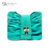 Rhinestone Turquoise bag - detail - final