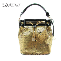 Sequin gold tote - front - final